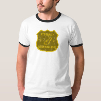 Attorney Drinking League Tee Shirt