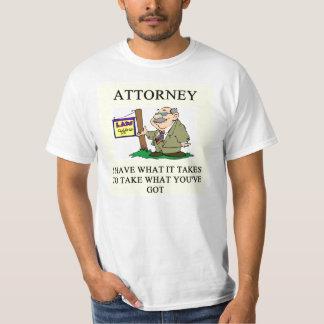 attorneys and lawyers joke shirt
