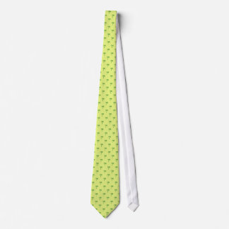 Attractive green palm trees on rough yellow surfac tie