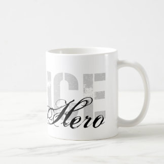 Aunt Is My Hero - POLICE Basic White Mug