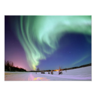 Aurora - Beautiful Northern Lights Poster