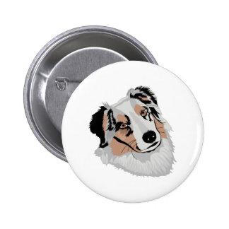 Aussie 6 Cm Round Badge