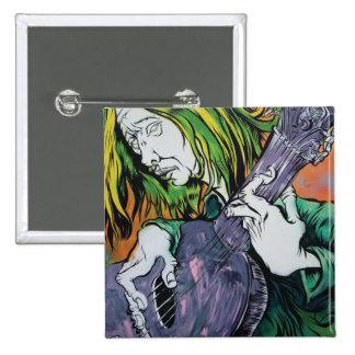 Aussie Hippie 15 Cm Square Badge