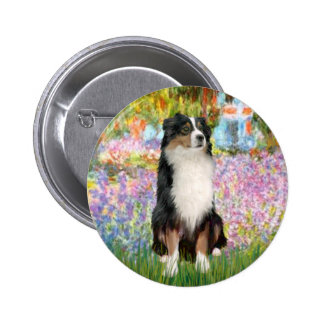 Aussie Shep 2 - Garden 6 Cm Round Badge