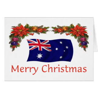 Australia Christmas Greeting Card