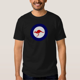 Australia kangaroo military aviation roundel t shirts