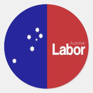 Australian Labor Party 2013 Round Sticker
