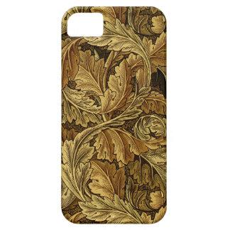 Autumn leaves William Morris pattern iPhone 5 Cases