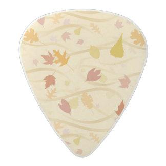 Autumn Wind Background Acetal Guitar Pick