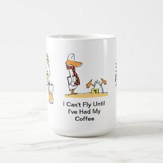 Aviation Humor Coffee Cartoon Mug