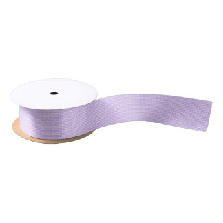Awareness Butterflies on Lilac Purple Satin Ribbon