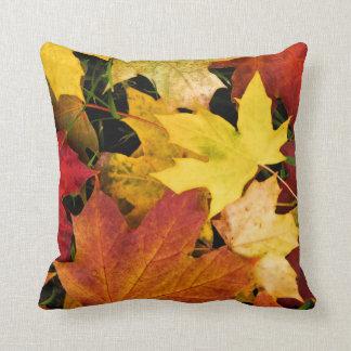 """""""Awesome Autumn Throw Pillow"""" Throw Cushions"""