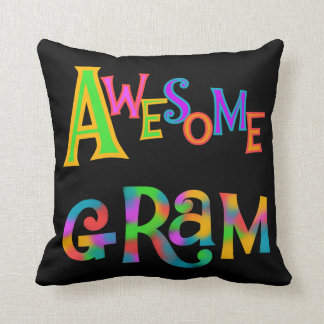 Awesome Gram T-shirts and Gifts Cushion