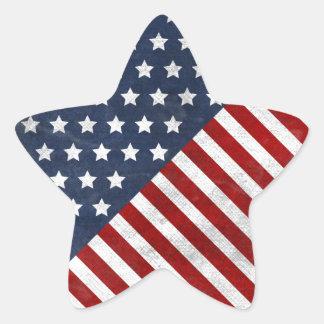 awesome usa flag grunge stars stripes star sticker