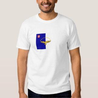 azores flag tshirt