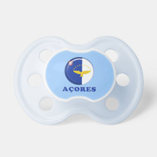 Azores islands flag pacifier