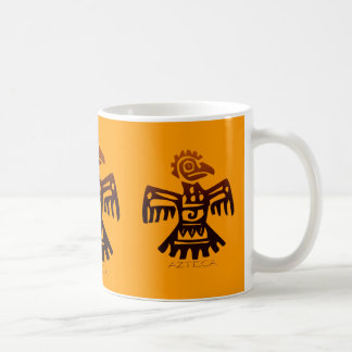 AZTEC ~ Bird Spirit Basic White Mug