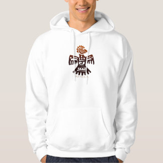 AZTEC ~ Bird Spirit Hooded Pullovers