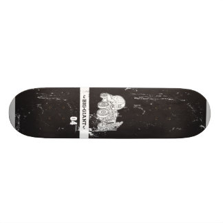 B-G_Deck_Black4 18.1 Cm Old School Skateboard Deck