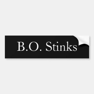 B.O. Stinks Bumper Sticker