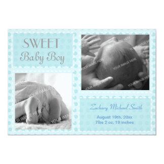 Baby Boy Announcement