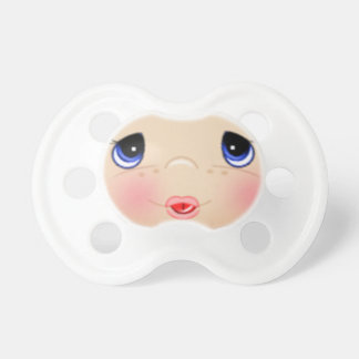 Baby Face with Teardrop Eyes Pacifier