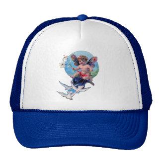 BABY FAIRY WITH DOVES CAP