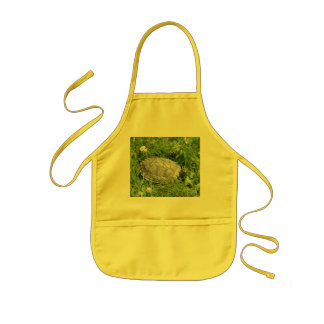 Baby Red Eared Slider Turtle Kids Apron