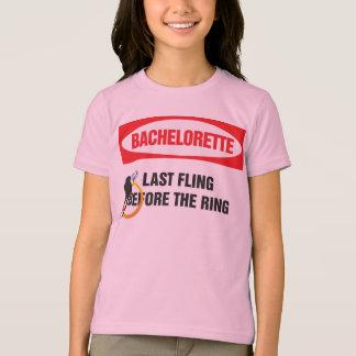 Bachelorette last fling before the ring t shirts