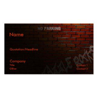 Back Alley Pack Of Standard Business Cards