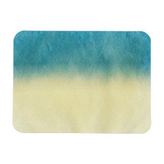Background- Texture Watercolor Paper Rectangular Photo Magnet