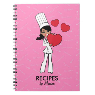 Baker African American Girl Collection Notebook