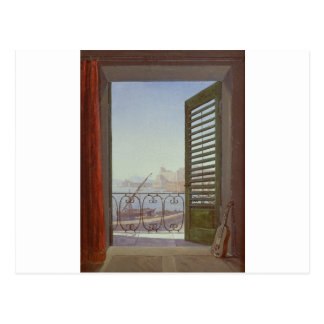 Balcony Room with a View of the Bay of Naples Postcard