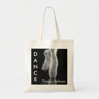 Ballet Dance Toe Shoes Bag with Personalized Name