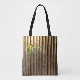 Bamboo Wall All-Over-Print Tote Bag