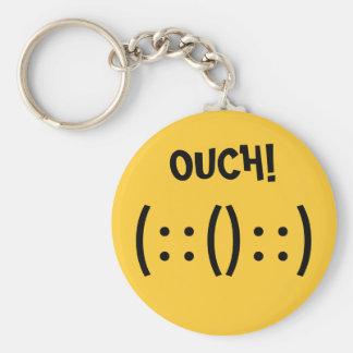 Band-Aid Basic Round Button Key Ring