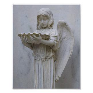 Baptismal Angel (side view) 8x10 Photo Print
