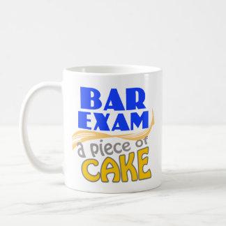 Bar Exam - Piece of Cake Basic White Mug