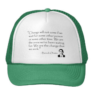 Barack Obama - CHANGE merchandise Cap