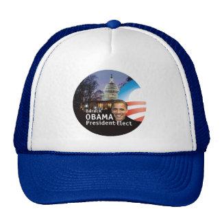 Barack Obama President Elect Capitol Hat