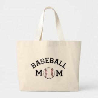 Baseball Mom Jumbo Tote Bag