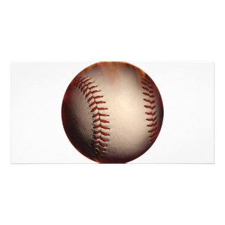 Baseball That Appears On Fire Photo Greeting Card