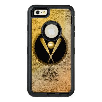 Baseball with baseball bat OtterBox iPhone 6/6s plus case