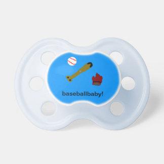 baseballbaby pacifier