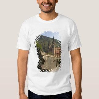 Basilica de Covadonga, northwestern Spain. Tee Shirt