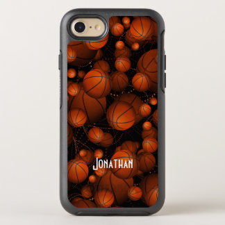Basketballs everywhere OtterBox symmetry iPhone 7 case
