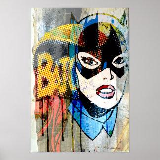Batgirl Head Poster