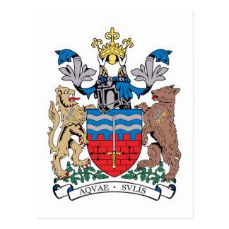Bath Coat of Arms Postcard