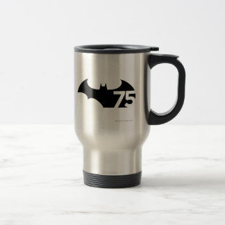 Batman 75 Logo Stainless Steel Travel Mug