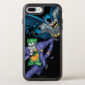 Batman and Joker with gun OtterBox Symmetry iPhone 7 Plus Case